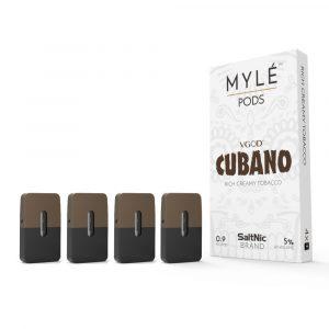 Cubano Vape Pods by MYLE 4 pods
