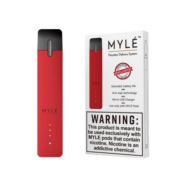 Hot Red Vape Device by MYLÉ