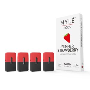 Summer Strawberry Pods by MYLÉ vape