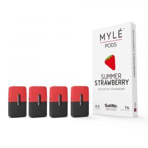 Summer Strawberry Pods by MYLÉ vape