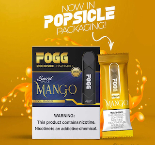 FOGG MANGO DISPOSABLE DEVICE