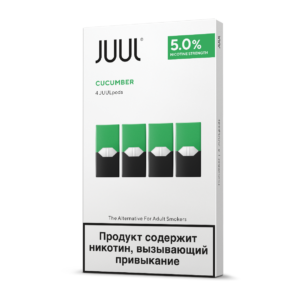 JUUL pods Cool Cucumber (pack of 4)