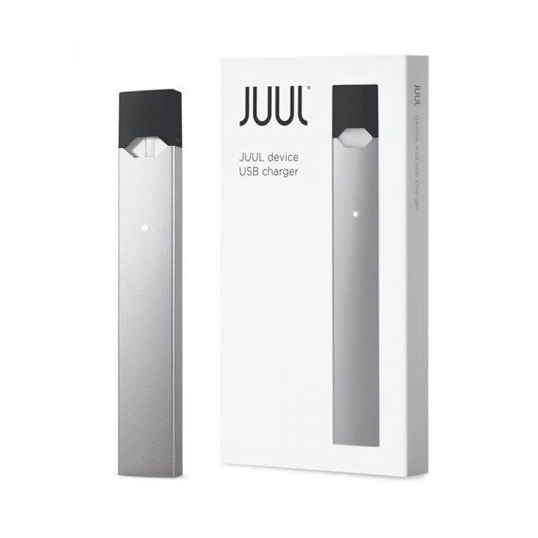 Silver Juul Device Vape Kit