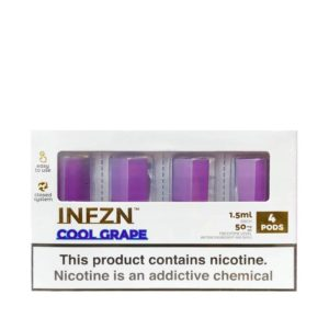 Phix Infzn Cool Grape Refill Pods - 4 pack
