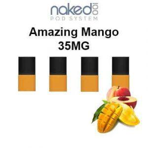 Naked 100Amazing Mango Pods