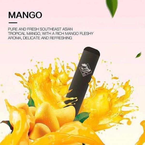 Tugboat 2 Disposable E-cigarette Mango