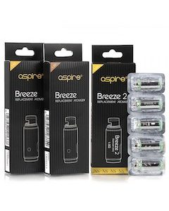 Aspire Breeze U Tech Replacement Coil 100%  cotton