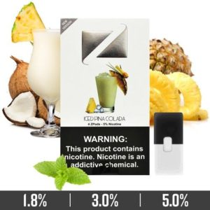 Iced Pina Colada Ziip Pods for Juul Devices