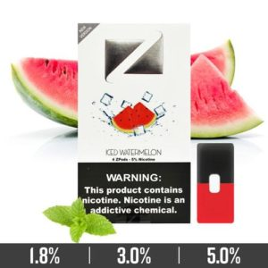 Iced Watermelon Ziip Pods for Juul Devices