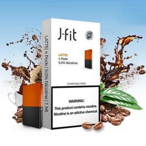Latte J Fit 4 Pods Juul