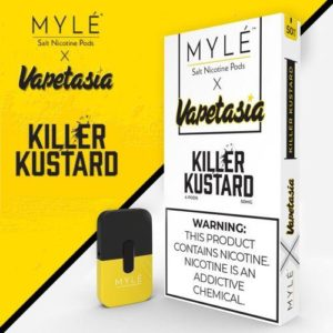 Myle Killer Kustard Salt Nicotine Pods