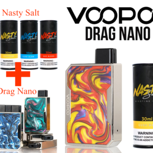 Drag nano nasty salt