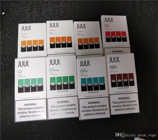 Juul Pods Virginia Tobacco-(pack of 4) 100% original 3
