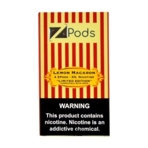Ziip Lemon Macaron Pods