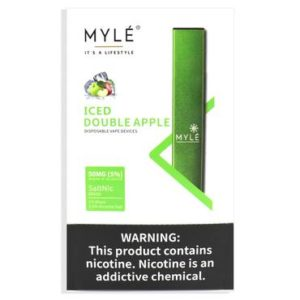 Myle Disposable Iced Apple