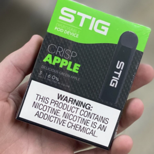 Crisp apple STIG Pod Device