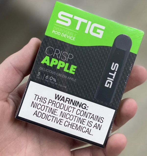 Crisp apple STIG Pod Device