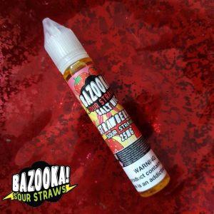 Bazooka Saltnic Strawberry Sour