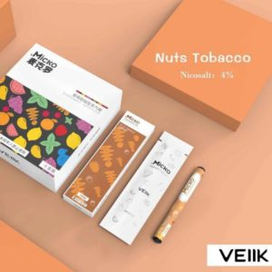 Veiik Micko Disposable Pods Nuts Tobacco