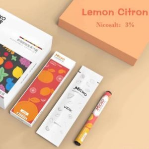 Veiik Micko Disposable Pods Lemon Citron