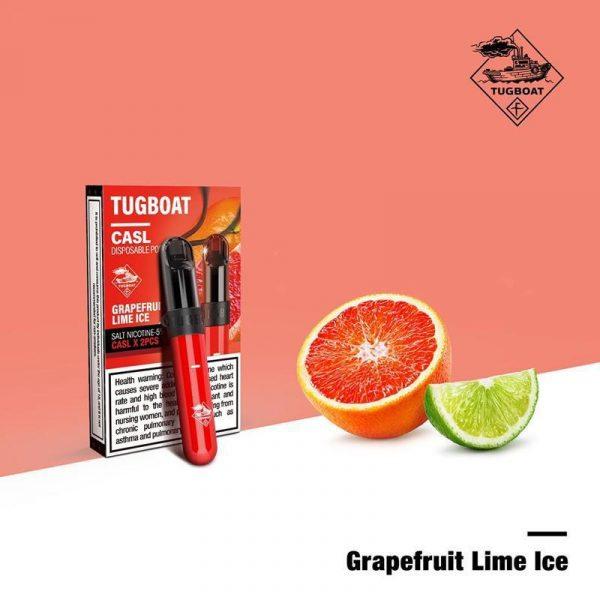 Tugboat V4 CASL Grapefruit Lime Ice