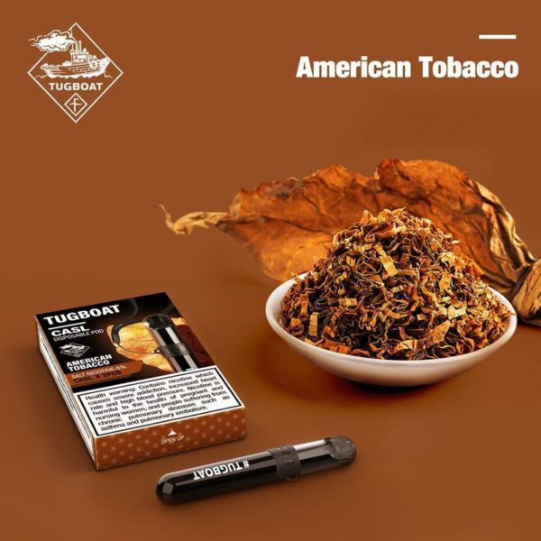 Tugboat V4 (CASL) - American Tobacco - Disposable Pod