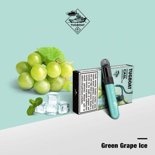 Tugboat V4 Green Grape Ice