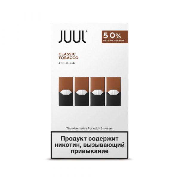 Juul Classic Tobacco Russian Stock