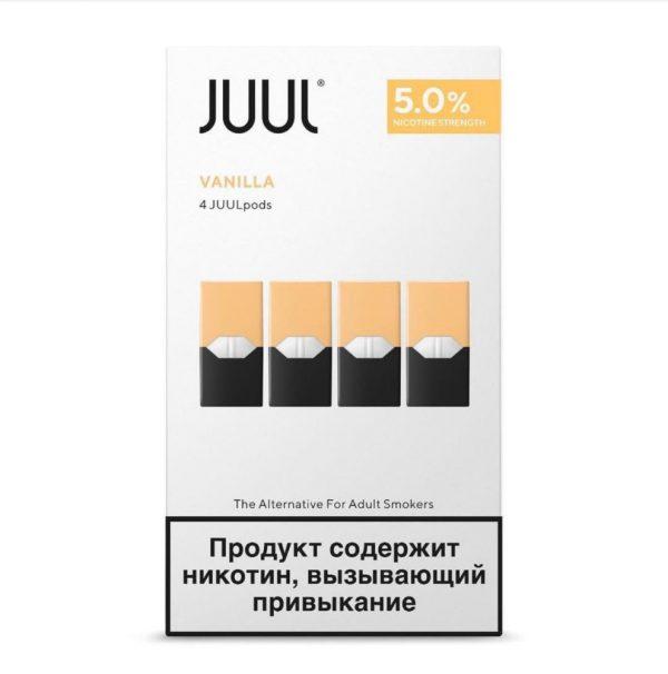 JUUL POD VANILLA RUSSIN STOCK
