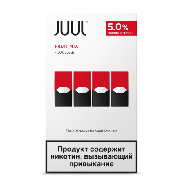 JUUL POD FRUIT MIX RUSSIN STOCK