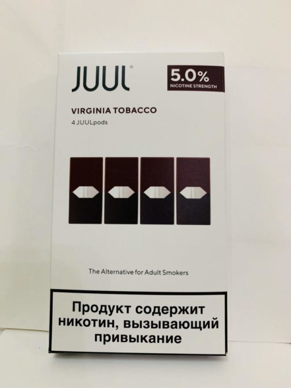 BEST JUUL POD VIRGINIA TOBACCO RUSSIA 6
