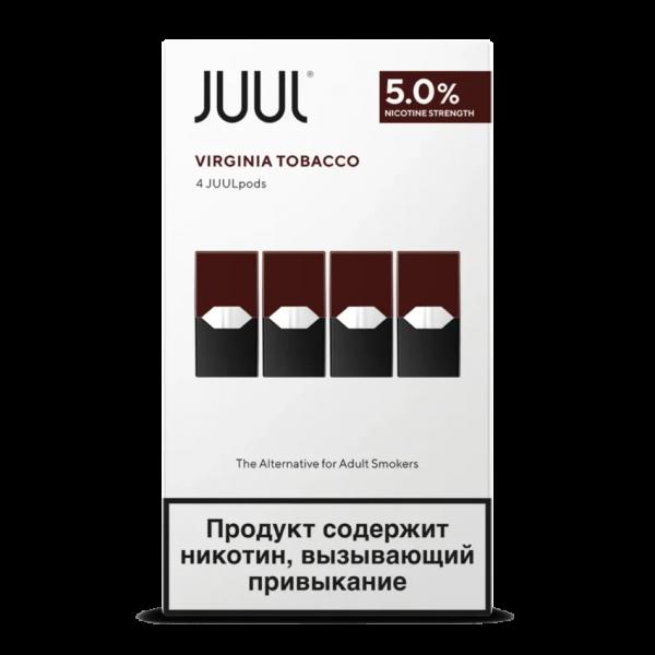 BEST JUUL POD VIRGINIA TOBACCO RUSSIA 1