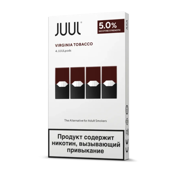 BEST JUUL POD VIRGINIA TOBACCO RUSSIA 3