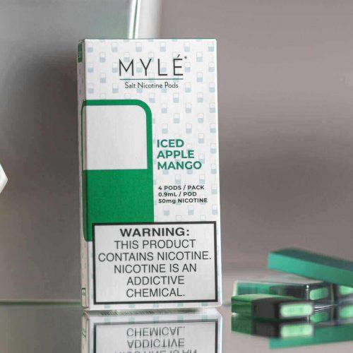 MYLÉ Iced Apple Mango Vape Magnetic Pods 2