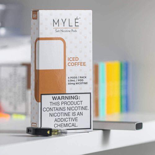 MYLÉ Iced Coffee Vape Magnetic Pods 2
