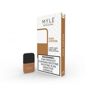 MYLÉ Iced Coffee Vape Magnetic Pods