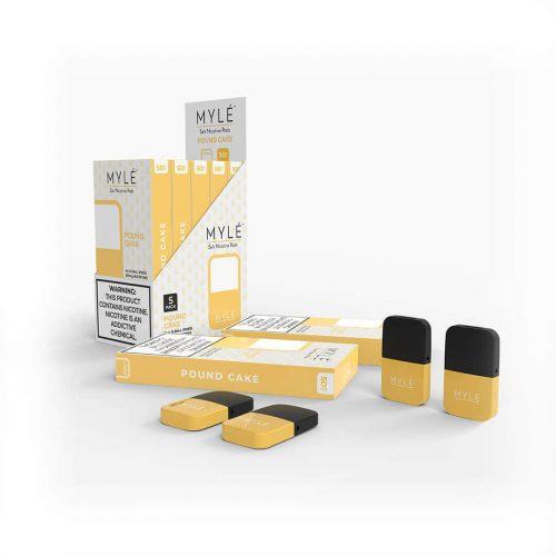 MYLÉ Pound Cake Vape Magnetic Pods 1