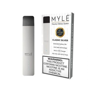 MYLÉ Classic Silver Vape Magnetic Devices