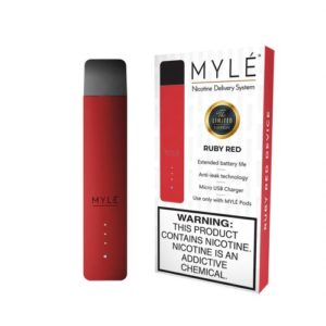 MYLÉ Ruby Red Vape Magnetic Devices