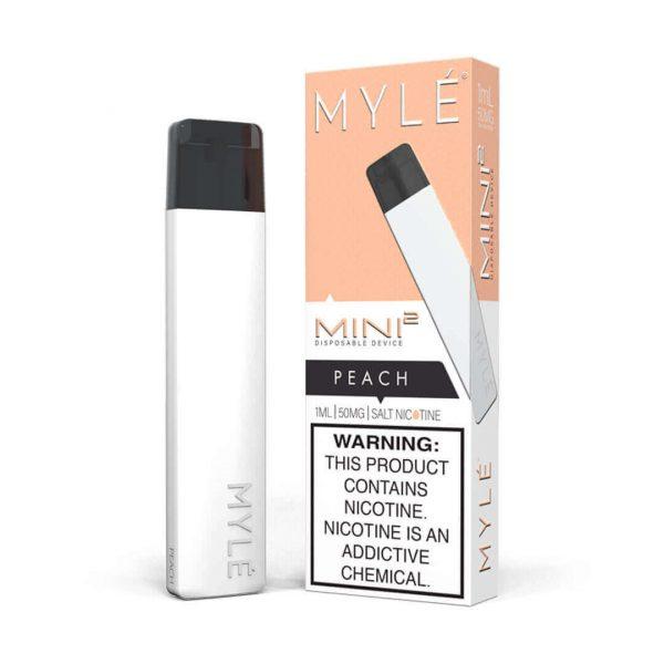 MYLÉ Mini 2 Peach Disposable Device