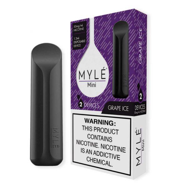 MYLE Mini Grape Ice Disposable Device