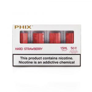 Phix Pods Hard Strawberry 4pc Pack Dubai
