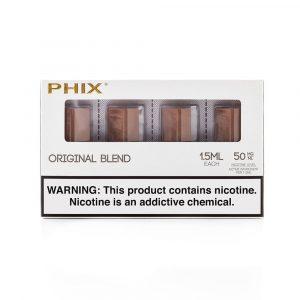 Phix Original Tobacco Blend Pods 4pc Pack