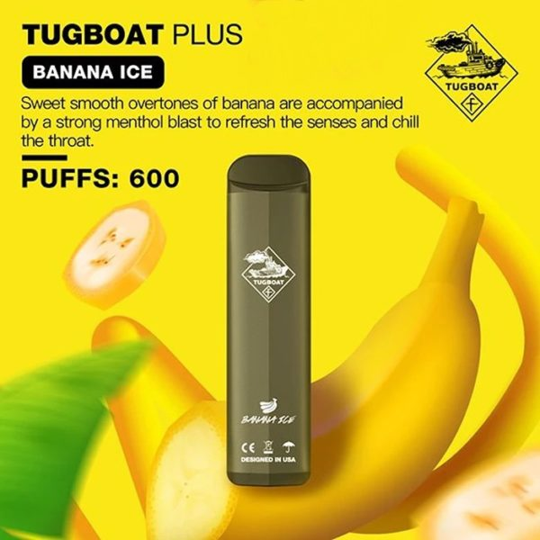 TUGBOAT PLUS DISPOSABLE POD SYSTEM-1PC PACK 1