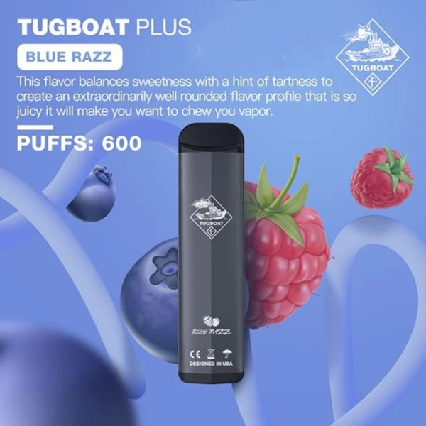 TUGBOAT PLUS DISPOSABLE POD SYSTEM-1PC PACK 2