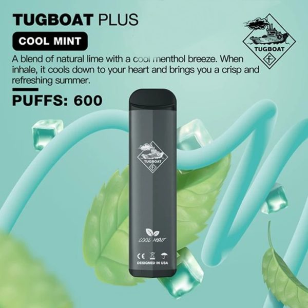TUGBOAT PLUS DISPOSABLE POD SYSTEM-1PC PACK 3