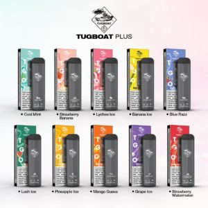 Tugboat Plus Disposable Pod System-1pc Pack