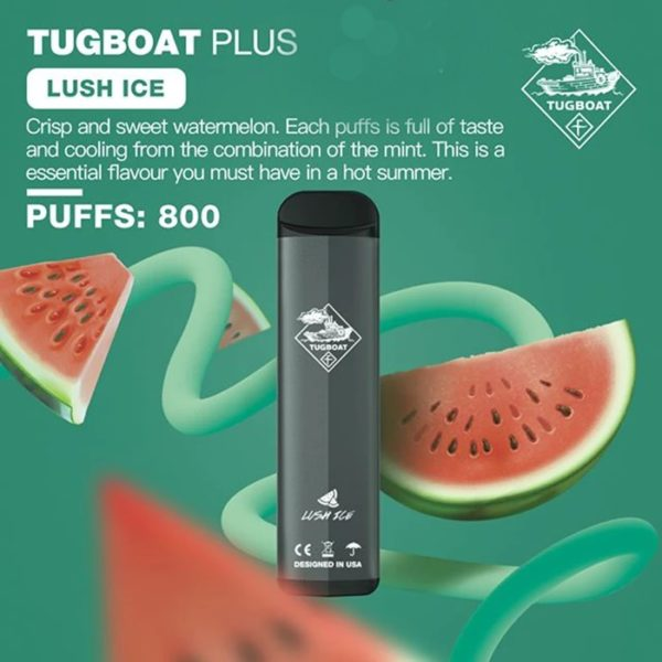 TUGBOAT PLUS DISPOSABLE POD SYSTEM-1PC PACK 5