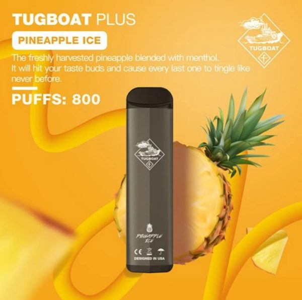 TUGBOAT PLUS DISPOSABLE POD SYSTEM-1PC PACK 8