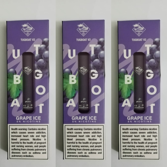 Tugboat V2 Line Disposable Device 1PC Pack 6